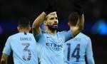 Man City thắng tổng tỷ số 10-2, tại Champions League