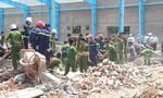 Sập tường đang xây dựng, ít nhất 6 công nhân tử vong