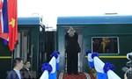 Ông Kim Jong-un rời ga Đồng Đăng, kết thúc chuyến thăm Việt Nam