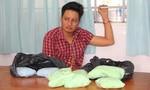 Bắt kẻ mang 4,3 kg ma túy từ Campuchia về Việt Nam