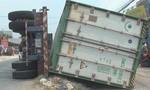 Tài xế lái xe container lật đè 3 bà cháu tử vong dương tính với ma tuý