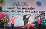 """Hội thi Phụ nữ Công an tỉnh Lâm Đồng """"Năng động, sáng tạo,  trung hậu, đảm đang"""""""