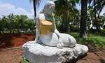 Công viên Indonesia 'thêm áo' cho tượng nàng tiên cá ngực trần