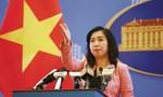 Trao công hàm phản đối Trung Quốc xây dựng trên quần đảo Hoàng Sa
