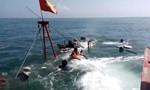 Tàu chở hàng ra đảo Lý Sơn bị chìm, 6 thuyền viên được cứu