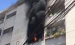 Cháy chung cư ở Sài Gòn, nhiều người tháo chạy