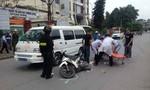 Ô tô chở cán bộ tòa án bỏ chạy sau tai nạn