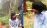 Nữ sinh bị đánh, bắt quỳ xin lỗi vì nói bạn... có bầu