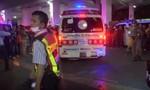 Cảnh hỗn loạn hiện trường vụ cháy trung tâm mua sắm Thái Lan