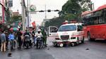 Nạn nhân bị xe cứu thương vượt đèn đỏ tông đã tử vong