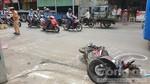 Xe container tông chết người đàn ông ở Sài Gòn