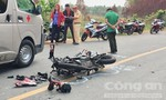 Hai thanh niên tử nạn sau khi xe máy tông trực diện