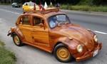 Người cha lái xe hơi gỗ từ Peru tới Mỹ vì lời hứa với... con gái