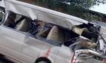 Xe khách tông xe tải, 1 người chết, 2 người trọng thương