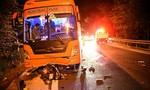 Xe máy đổ đèo Prenn tông trực diện xe khách, 1 người chết, 1 người nguy kịch