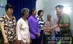 Đoàn Thanh niên Công an TP.HCM: Trao 300 phần quà cho bà con nghèo