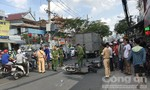 Tai nạn liên hoàn ở Sài Gòn, một phụ nữ chết tại chỗ