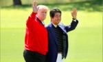 """Trump """"ngoại giao sân golf"""" với Abe trong chuyến thăm Nhật"""