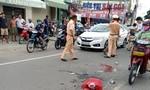 Người phụ nữ tử vong thương tâm sau cú va chạm xe tải