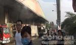 Cháy âm ỉ suốt 4 giờ tại cơ sở sản xuất bột mì