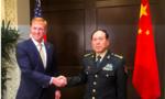 Bộ trưởng quốc phòng Mỹ - Trung gặp nhau bên lề đối thoại Shangri-La