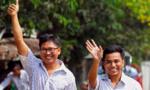 Myanmar trả tự do cho hai nhà báo đạt giải Pulitzer