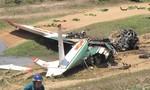 Máy bay huấn luyện rơi, 2 phi công hi sinh