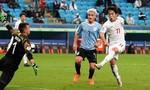 Clip Nhật Bản hòa Uruguay ở Copa America