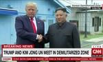Trump – Kim bắt tay nhau ở DMZ, Trump bước qua biên giới Triều Tiên