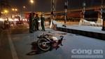 Tông vào trạm thu phí ở Sài Gòn, một thầy giáo tử vong