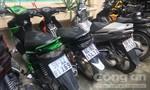 Chủ quán cà phê và đồng bọn trộm một lúc 7 xe máy trong nhà trọ ở Sài Gòn