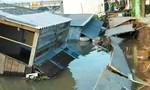 Sạt lở sông Nha Mân, 5 căn nhà bị nhấn chìm lúc rạng sáng
