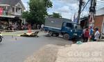 Tông vào xe tải, thiếu niên 17 tuổi tử vong tại chỗ