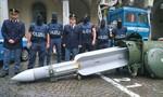 Cảnh sát Ý bắt nhóm 'tân phát xít' rao bán... quả tên lửa giá nửa triệu USD