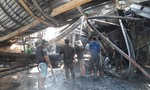 Cháy nhà máy rộng hơn 1.000 mét vuông, 1 công nhân bỏng nặng
