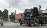 Thùng container rơi đè chết tài xế xe tải trong công ty A-One