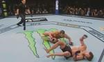 Clip võ sĩ lập kỷ lục knock-out của UFC với cú ra đòn chưa từng có
