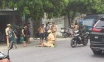 Kẻ vi phạm tông thẳng xe khiến Thượng úy CSGT trọng thương