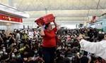 Ngành hàng không Hong Kong mất gần 80 triệu USD vì biểu tình