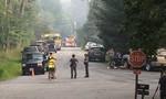 Máy bay Mỹ rơi xuống khu dân cư, ít nhất 2 người thiệt mạng