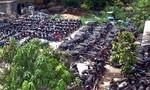 Công an quận 10 tìm chủ 84 xe máy vi phạm