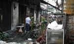 Hàng trăm bình gas mini phát nổ thiêu rụi nhiều ki-ốt ở Sài Gòn