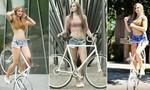 Clip nữ hoàng xe đạp xinh đẹp biểu diễn thuần thục đến khó tin