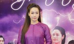 Nhật Kim Anh đẹp rạng rỡ trong sắc tím