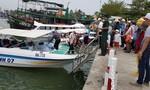 Quảng Nam, Quảng Ngãi còn nhiều tàu cá hoạt động trên biển