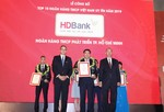 HBank lọt top 6 ngân hàng TMCP tư nhân uy tín nhất năm 2019