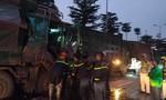 Cắt cabin cứu tài xế sau tai nạn liên hoàn giữa ba xe tải