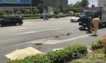 TP.HCM: Xe tải tông xe máy, một phụ nữ chết tại chỗ