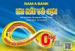 Nam A Bank: Ưu đãi vô cực khi sử dụng tài khoản thanh toán
