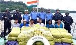 Ấn Độ bắt tàu chở hơn một tấn ma túy tổng hợp